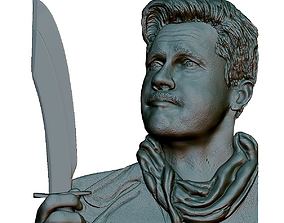 3D print model Portrait Bas-relief