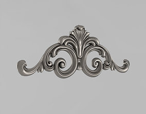 cartouche Central Decor 3D print model