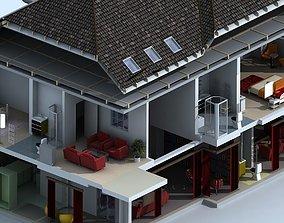 3d House Cuttout