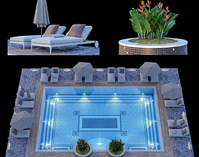 Swimming Pool 11 3D model