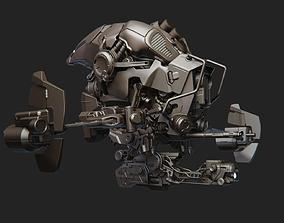 3D Sci-fi Drone Concept