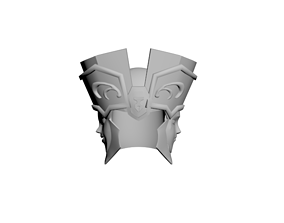 Saint Seiya Geminis Gold Helmet 3D Printable