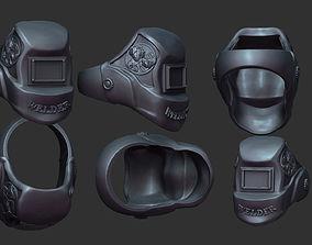 3D print model welder mask ring
