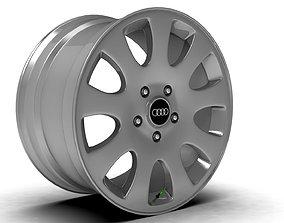 Audi A6 C5 Rim 3D model