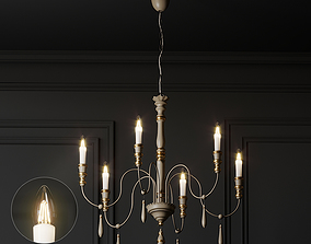 3D Casa Florentina Antonio 6-Light Chandelier