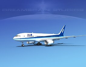 Boeing 787-8 All Nippon Airways 3D model
