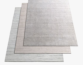 3D model Restoration Hardware Rugs 60
