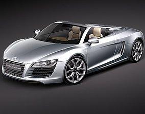 Audi R8 Spyder 2010 3D