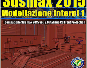 3ds max2015 Modellazione Interni V 9 Italiano cd front