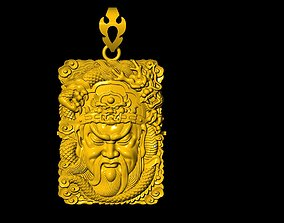 3D printable model Guan Yu yu