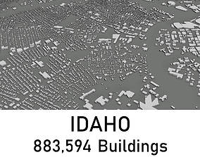 game-ready Idaho - 883594 3D Buildings