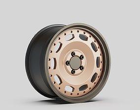 3D wheel rims car sport turnable
