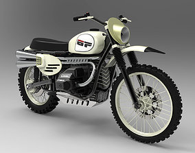 ural Ural Enduro Motorcycle - High detailed 3D model