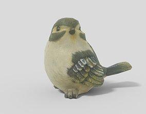 3D asset Bird 02 Lowpoly
