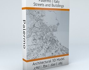 3D model Palermo Streets and Buildings