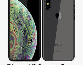 3D model Apple iPhone XS Space Gray