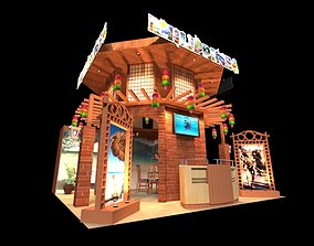 Philippines 6 x 6 Exhibition Booth 3D