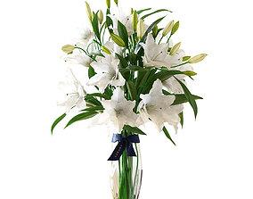3D Bouquet of lilies