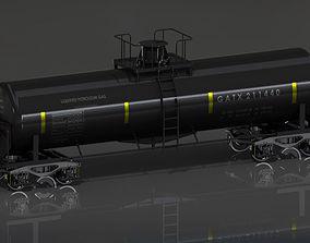 GATX Railway Freight Tank 3D