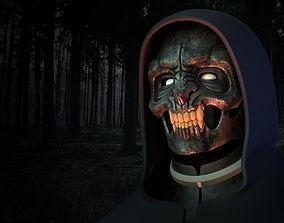 Werewolf mask 3D print model