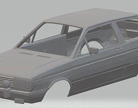Volkswagen Gol G1 GT Printable Body car
