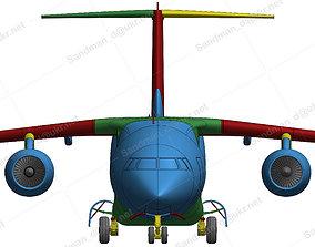 152212 ANTONOV AN-178 DOWN 3D printable model