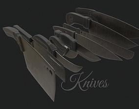 Knives Minipack 3D model
