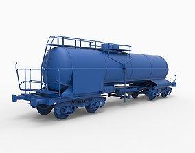 3D printable model wagon mod5