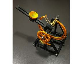 Catapult Inspired By Leonardo da Vinci 3D printable model
