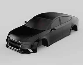 car rs7 3D model