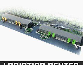 Logistics Building 01 3D model