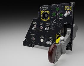 3D model F16 LANDING GEAR Panel