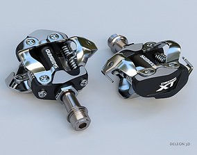 Clipless Shimano SPD Pedals 3D