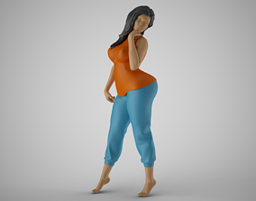 3D printable model Hopeful Woman 2 relax