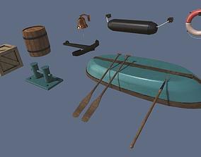 3D model Boat Station