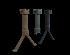 Grip-pod 3D asset
