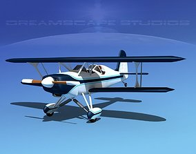 3D rigged Stolp Starduster Too SA300 V16