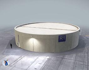 3D model Hangar Cylindrical LOWS