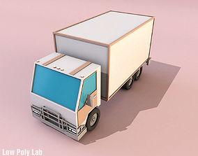 3D asset Cartoon City Truck