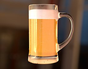 3D Beer glass Can