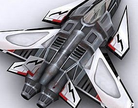 Sci-Fi fighters pack 3D asset game-ready
