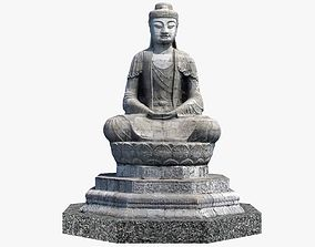exterior Buddha 3D model VR / AR ready