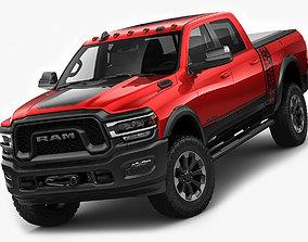 heavy RAM Power Wagon 2019 3D