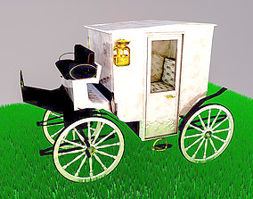 3D model White Lady Carriage