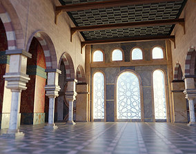 Arabian Islamic Hall 3D model