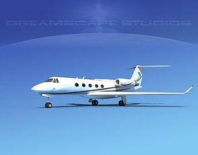 3D Grumman Gulfstream G-V V01