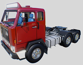 3D asset Volvo F88 Low Poly