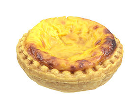 other Photorealistic Egg Tart 3D Scan