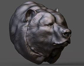 3D print model Bear head