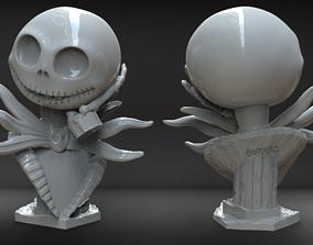 Jack Skellington Bust 3D print model